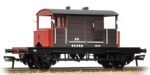 38-400A Bachmann Branchline SR 25 Ton Pill Box Brake Van SR Brown L/H Duckets